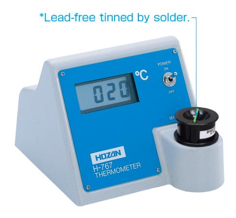 soldering iron  checker| máy đo nhiệt độ mũi hàn| H-767-TA| Hozan H-767-TA
