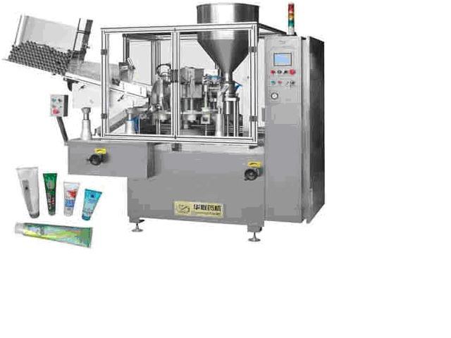 máy chiết và dán tuýp nhựa HZNF-50A