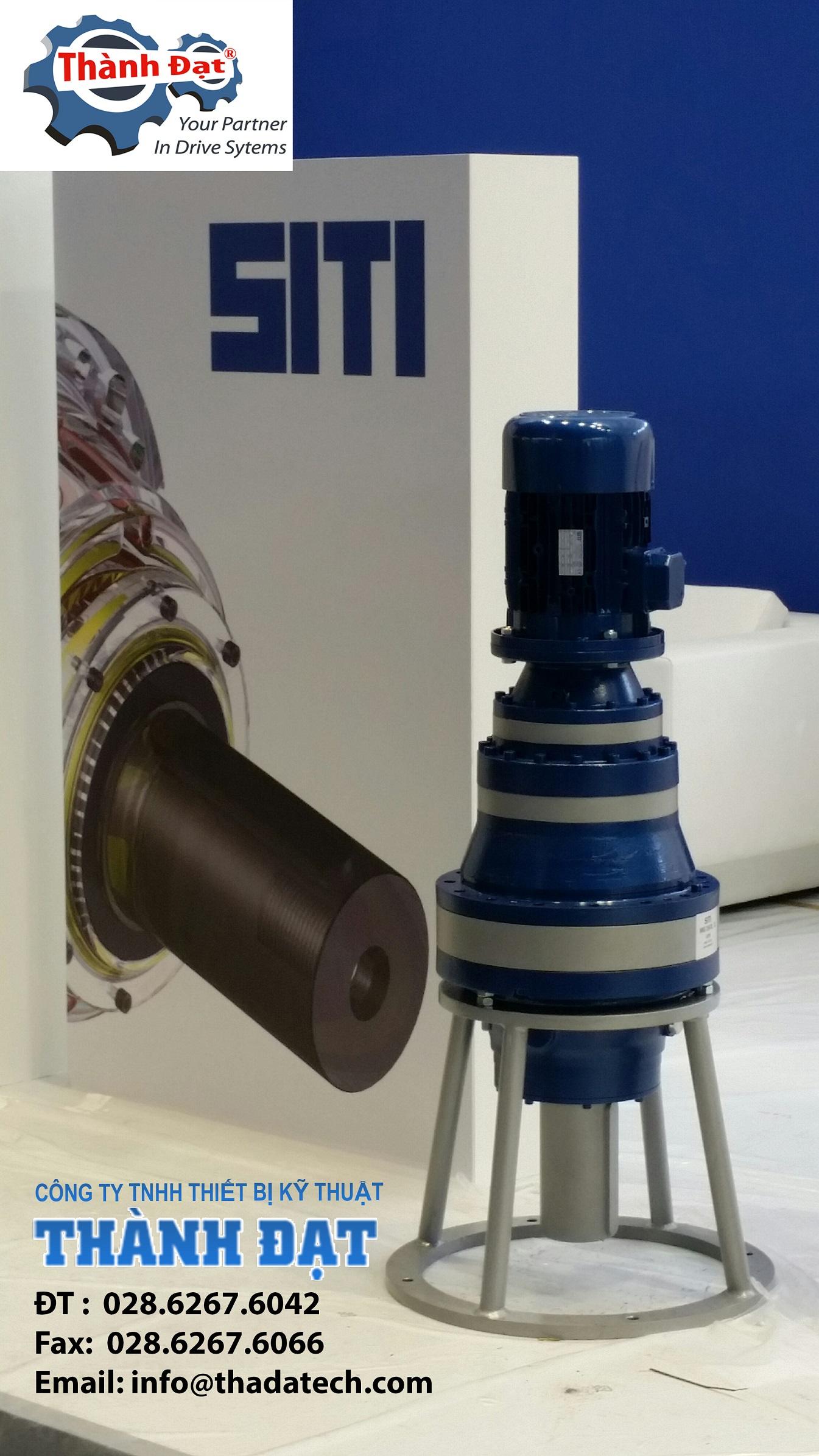 Nhà phân phối chính thức sản phẩm động cơ giảm tốc SITI-ITALY tại Việt Nam :