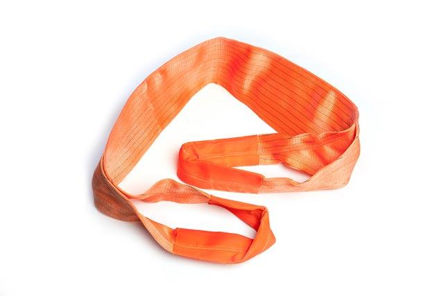Dây cáp vải bản dẹt 20 tấn dài 12M (Webbing sling Eye to Eye)