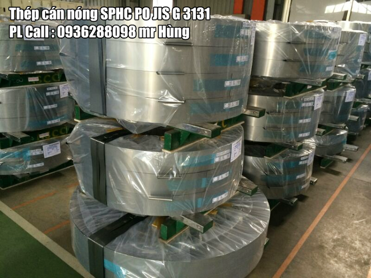 Thép cán nóng SPHC PO
