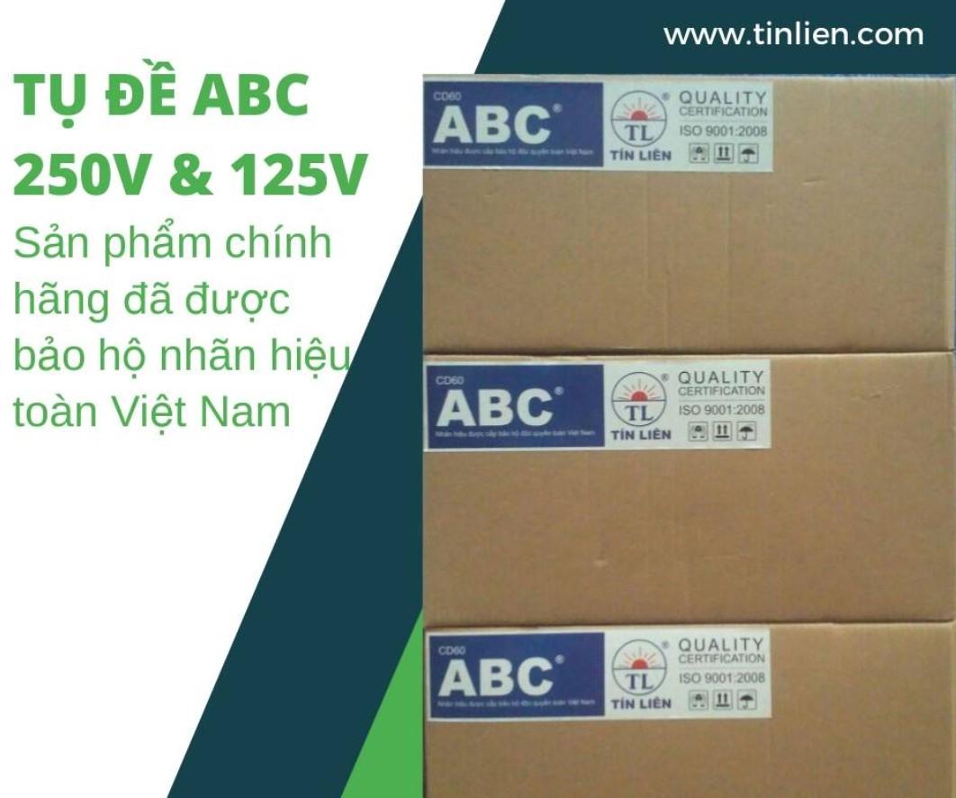 Tụ đề ABC chính hãng - Tu de Taiwan 125v 250v