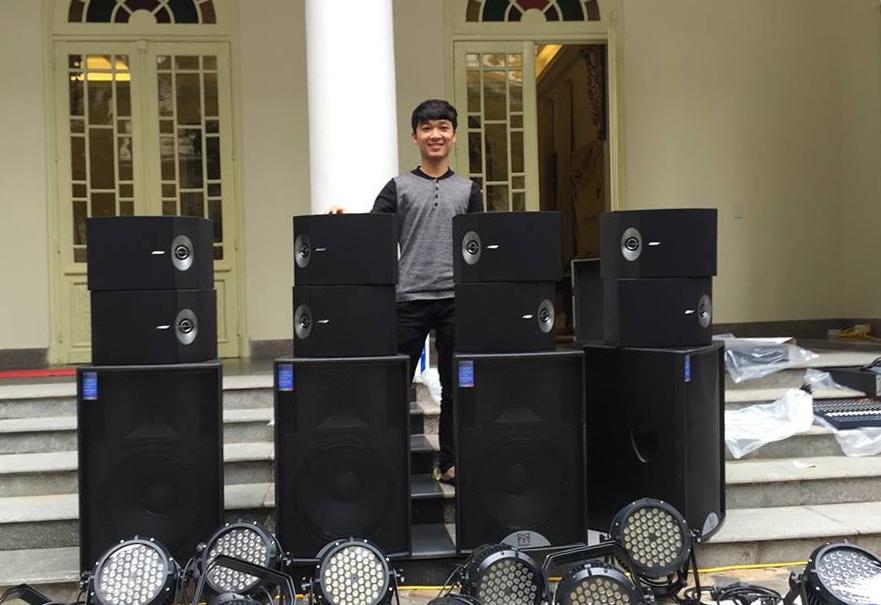Đơn vị bán loa hội trường số 1 tại Việt Nam