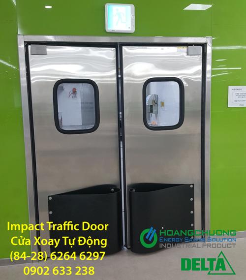 Cửa Xoay Tự Động Impact Traffic Door Delta 2018