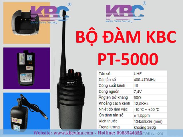 Máy bộ đàm KBC PT-5000