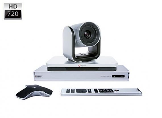 Thiết bị truyền hình trực tuyến Polycom group 500