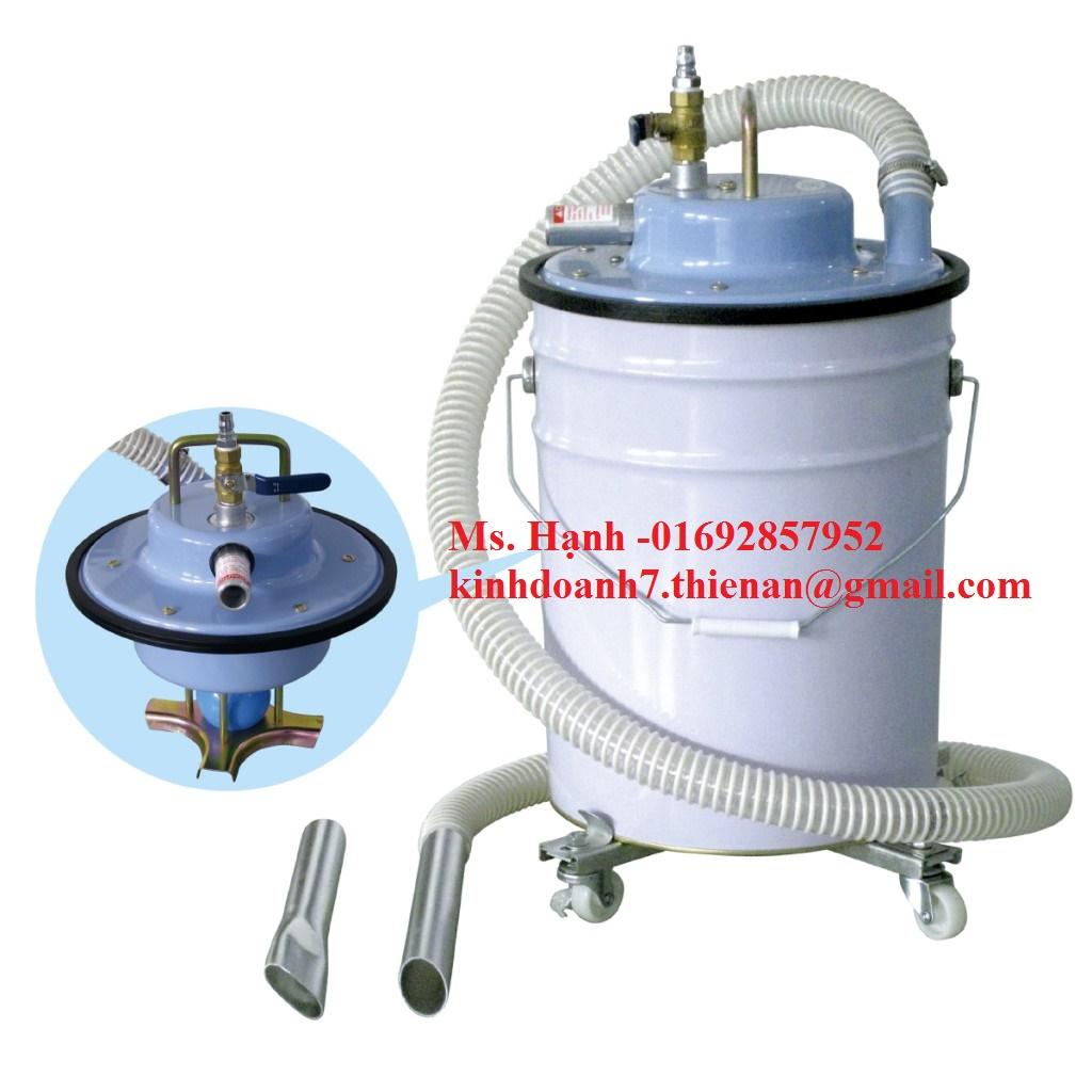 Máy hút bụi khí nén kiểu thùng Aquasystem AVC-55