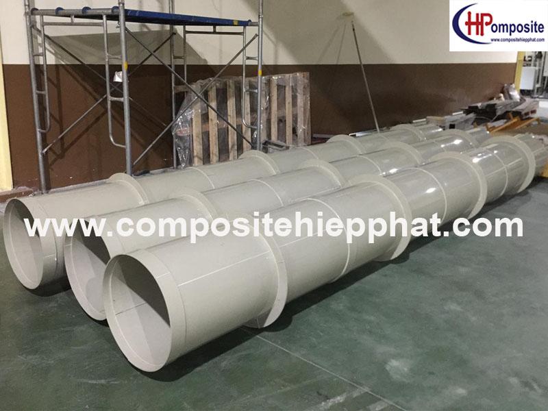 Ống nhựa PP cho hệ thống lọc khí thải