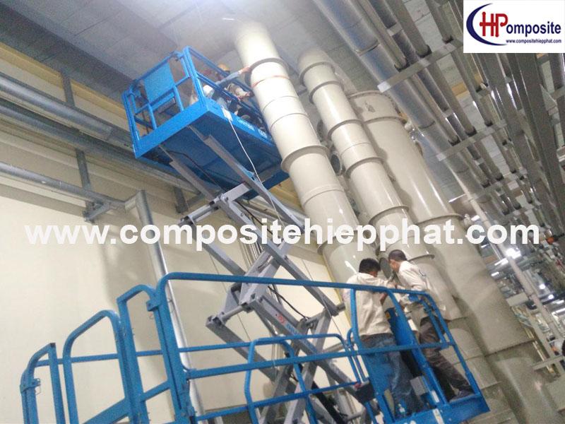Ống PP dẫn khí thải