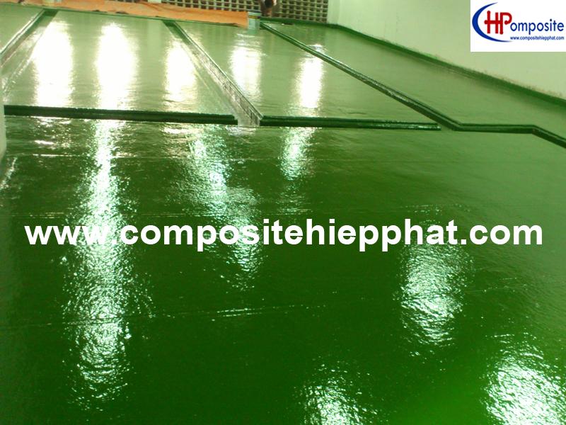 Phủ composite cho nền bê tông