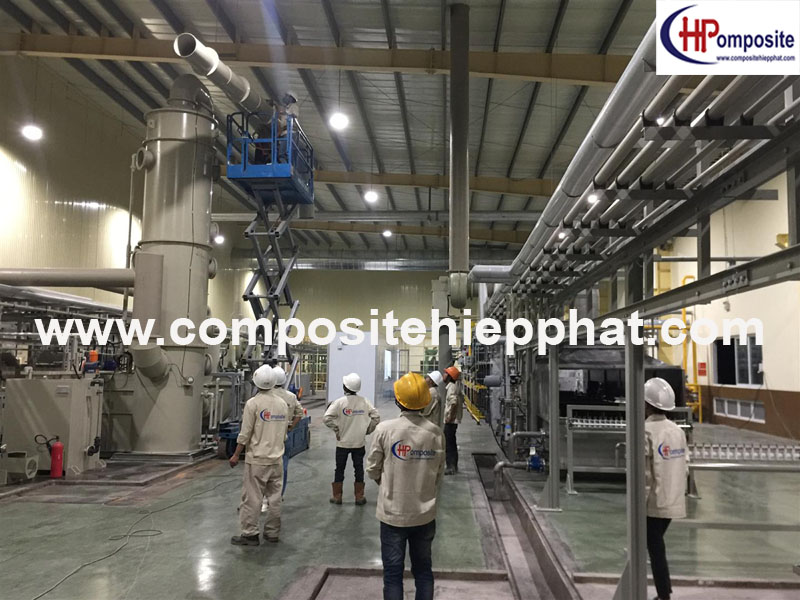 Tháp PP xử lý khí thải