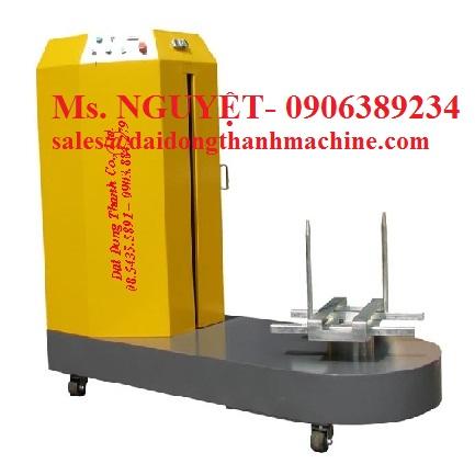 Máy quấn màng PE kiện hành lý tự động tại Hồ Chí Minh, Đà Nẵng, Hà Nội, Huế, Phú Quốc, Hải Phòng