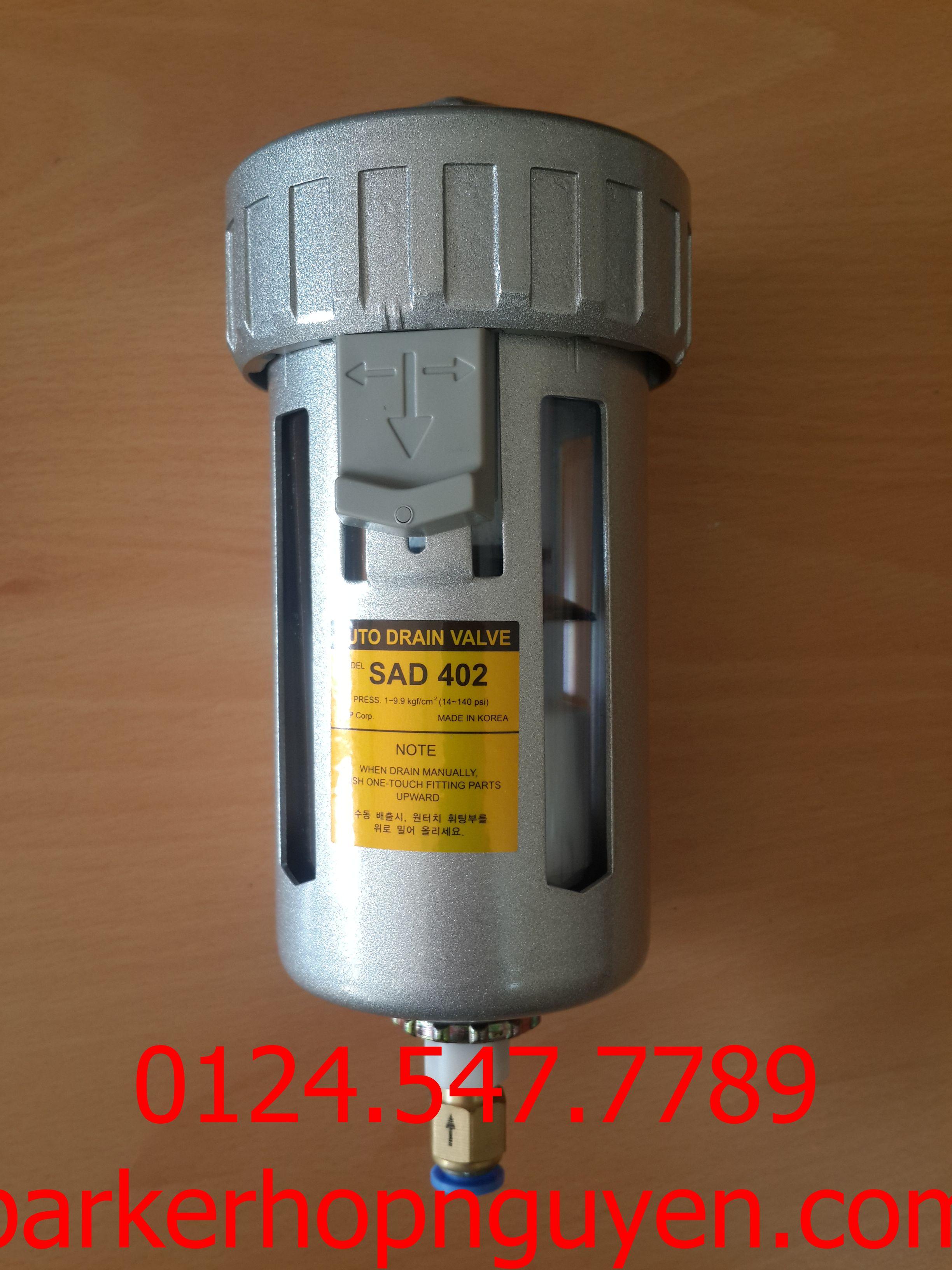 Thiết bị lọc xả tự động SAD402-04