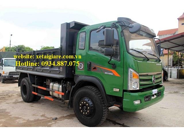 Xe ben Dongfeng 7 tấn (7T) 1 cầu thùng ben 5.8 khối