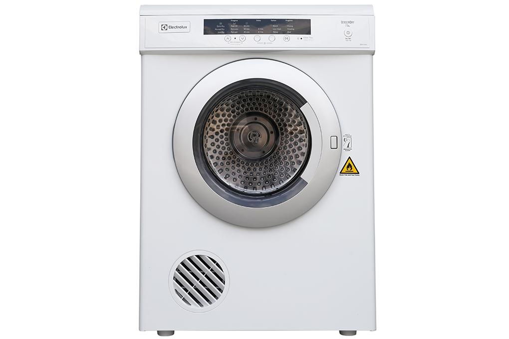 Máy sấy quần áo Electrolux EDV-7552 màu trắng