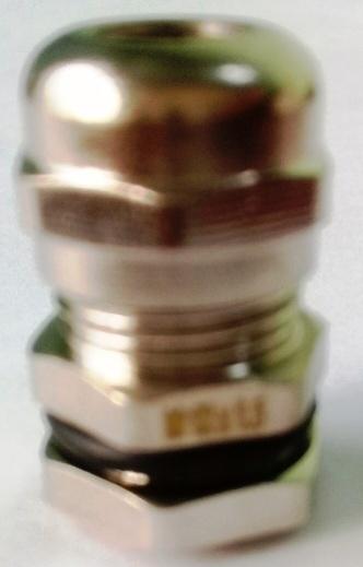 Xiết cáp mạ niken M12x1.5, có ron cao su