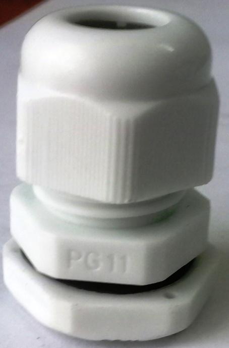 Xiết cáp nhựa PG11, có ron cao su