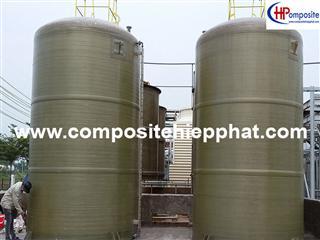 Bồn composite chứa hóa chất