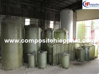 Bồn composite chứa nước thải