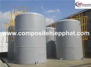 Bồn composite FRP chứa hóa chất