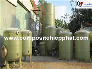 Bồn composite FRP chứa nước thải