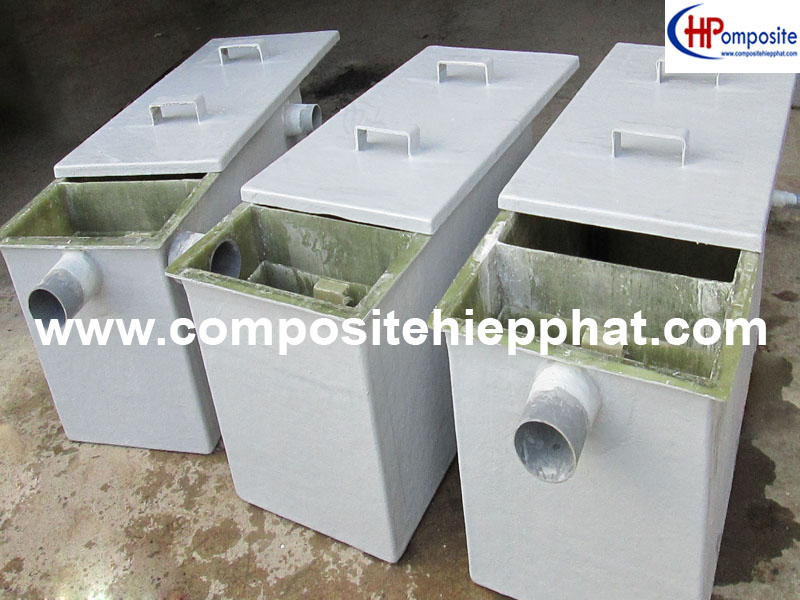 Bồn nhựa composite tách mỡ