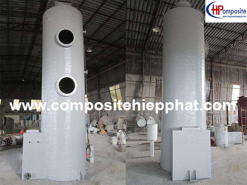Tháp composite xử lý khí