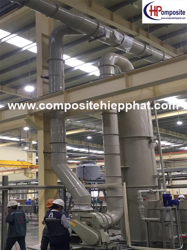 Tháp nhựa polypropylene