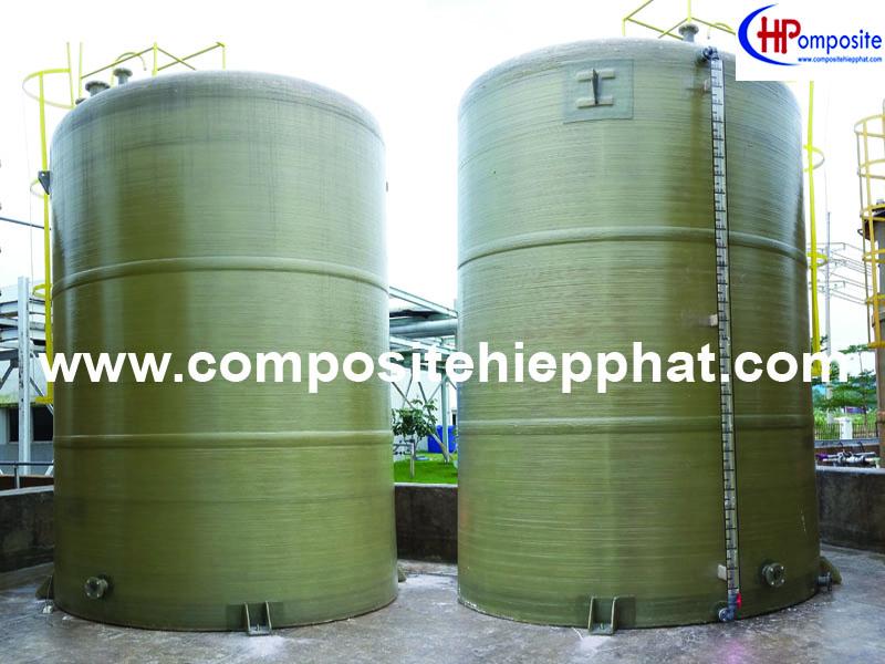 Thùng composite chứa hóa chất