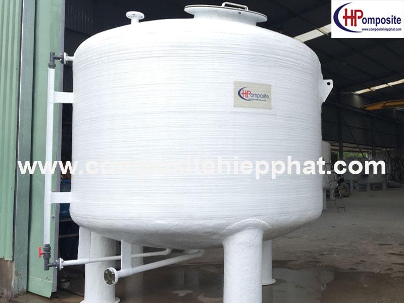 Thùng nhựa composite chứa nước mắm