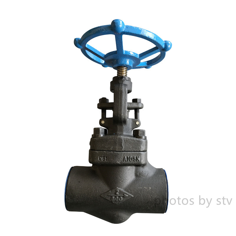 Forged Gate Valves, Npt End,Body:,ASTM A-105, Stem F6, Trim: 13% CR