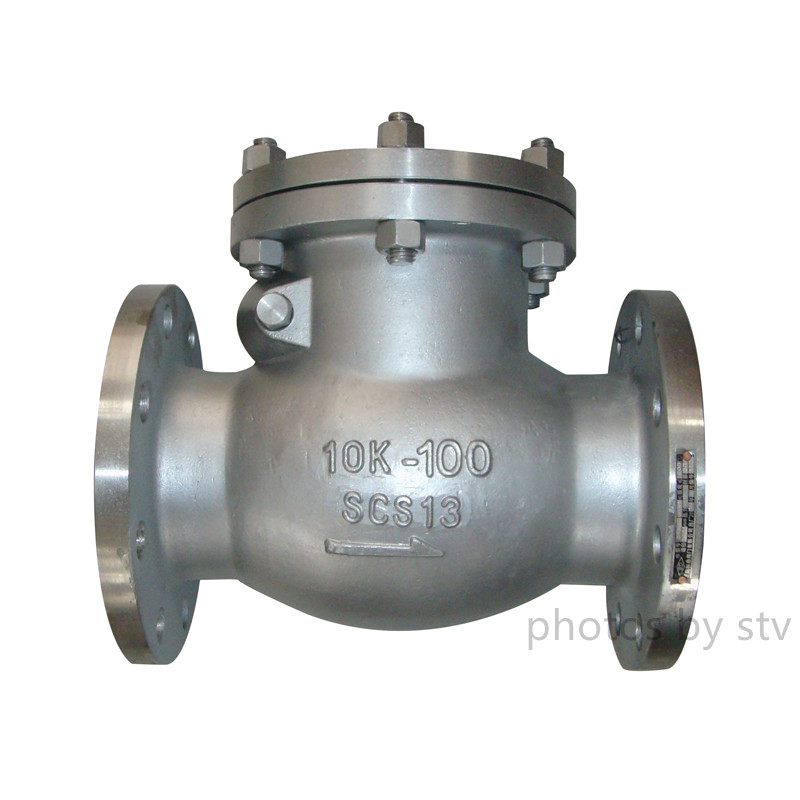 SCS13 Swing Check Valve,4 Inch,Jis10K,FF End