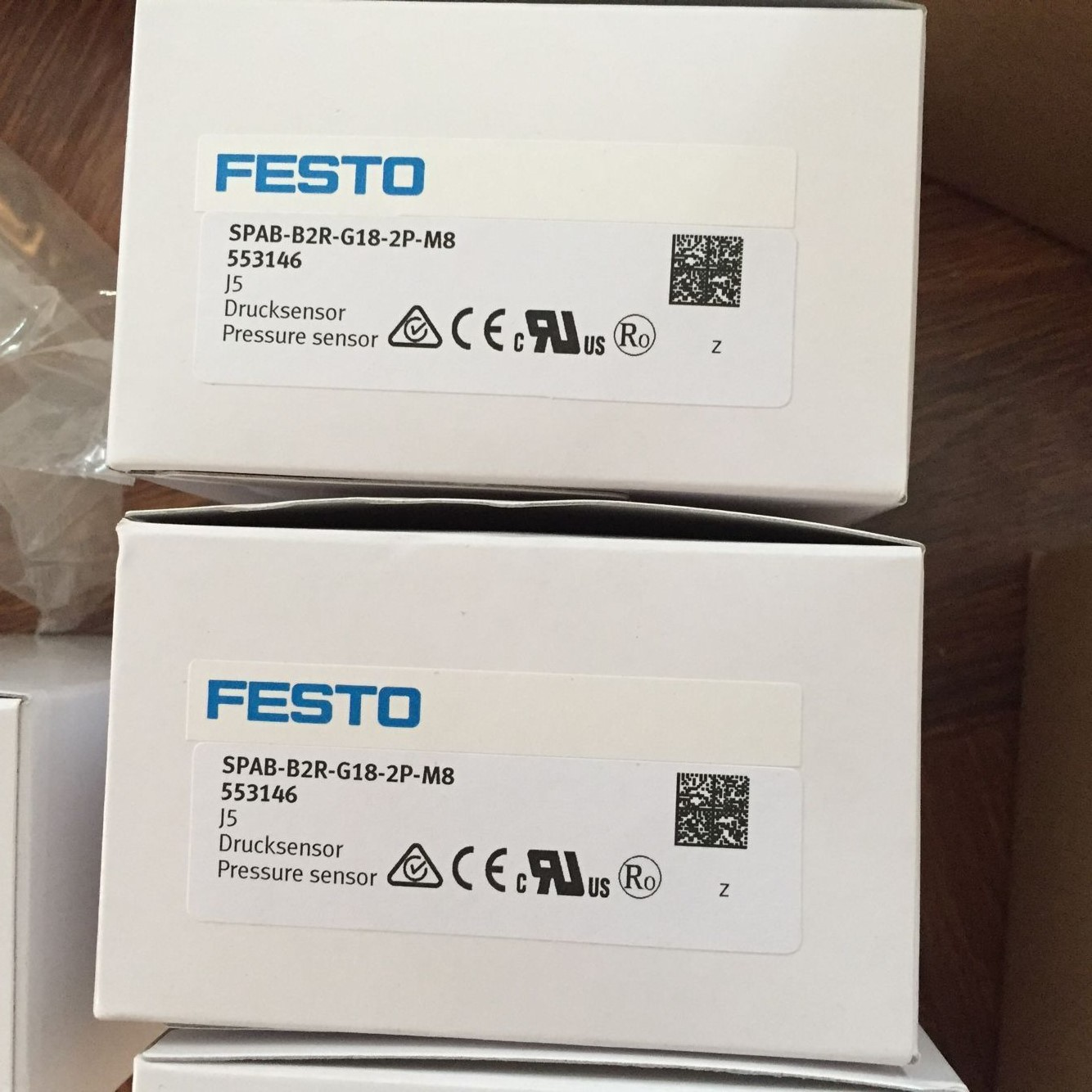 FESTO SPAB-B2R-G18-2P-M8 553146