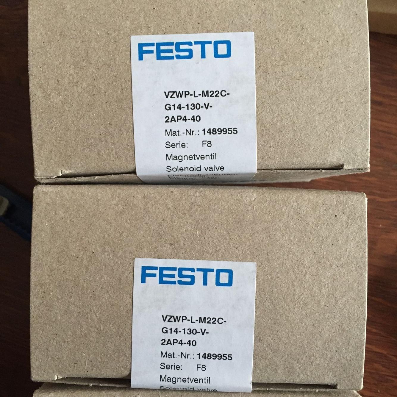 FESTO VZWP-L-M22C-G14-130-V-2AP4-40 1489955