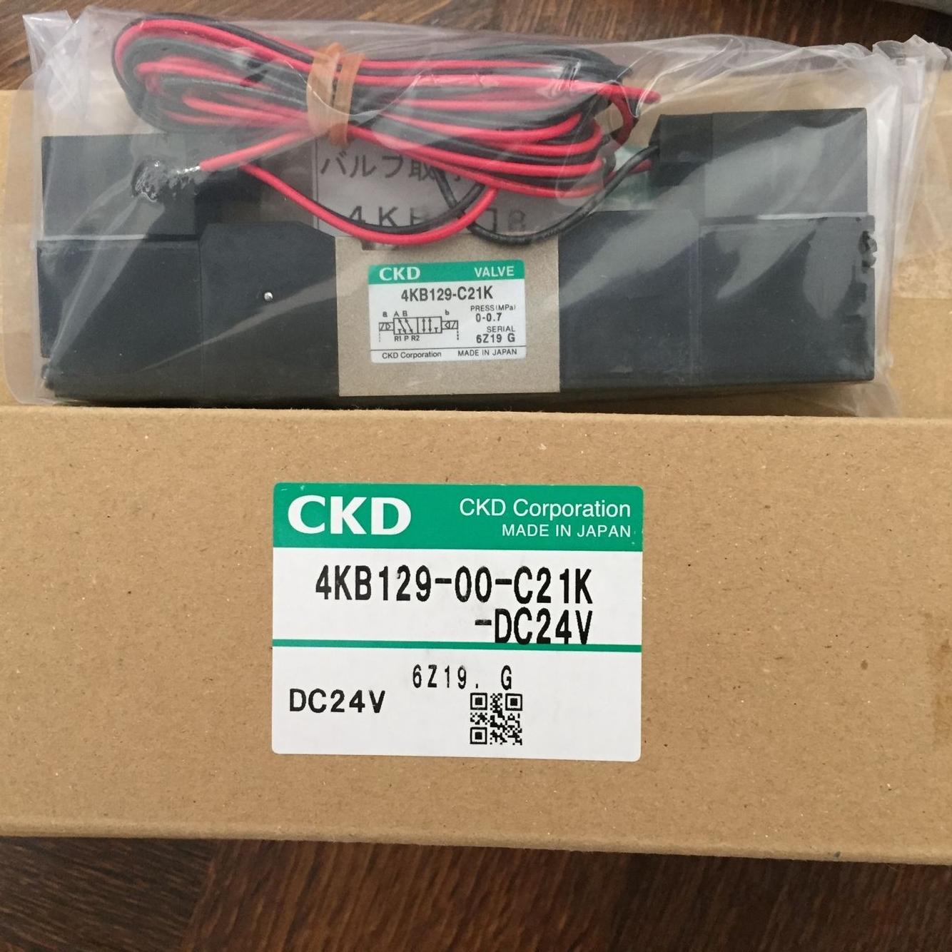 Van điện từ CKD 4KB129-00-C21K-DC24V