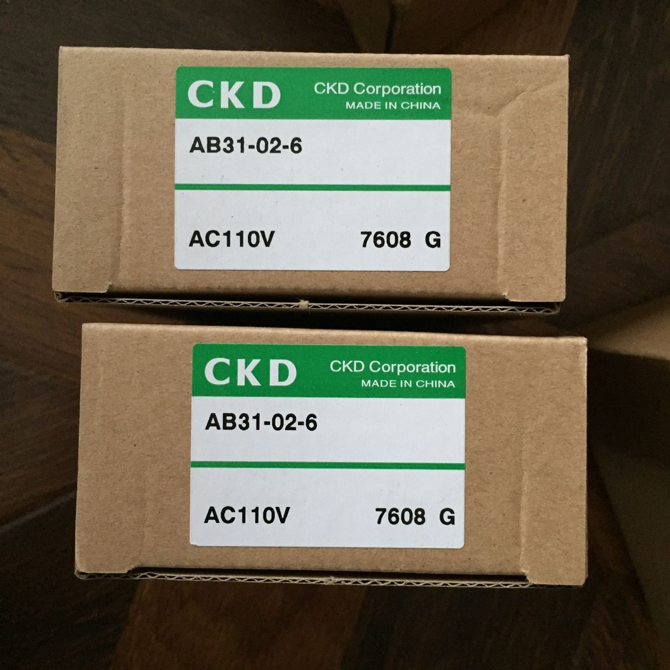 Van điện từ CKD AB31- 02-6-AC110V