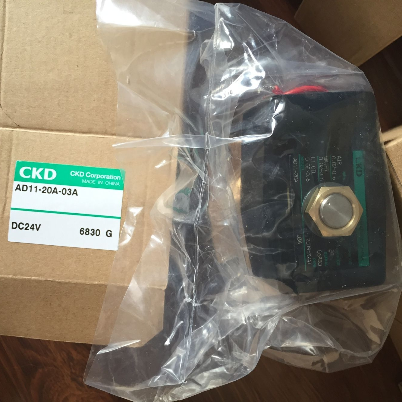Van điện từ CKD AD11- 20A-03A-AC24V