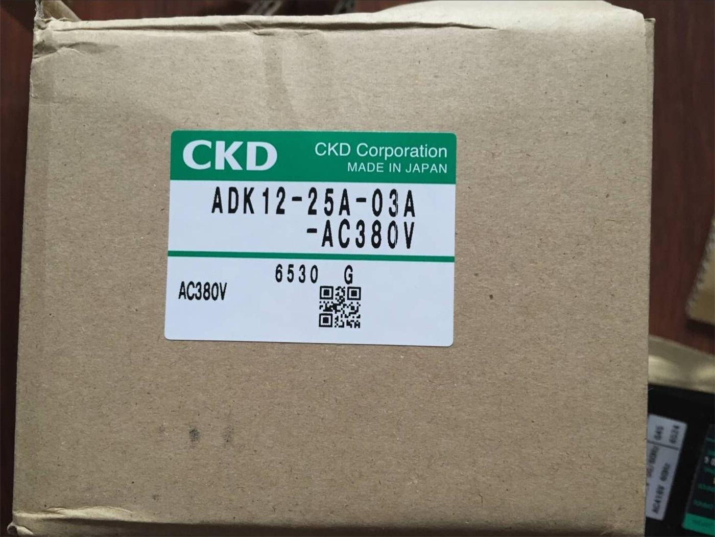 Van điện từ CKD ADK12- 25A-03A-AC380V