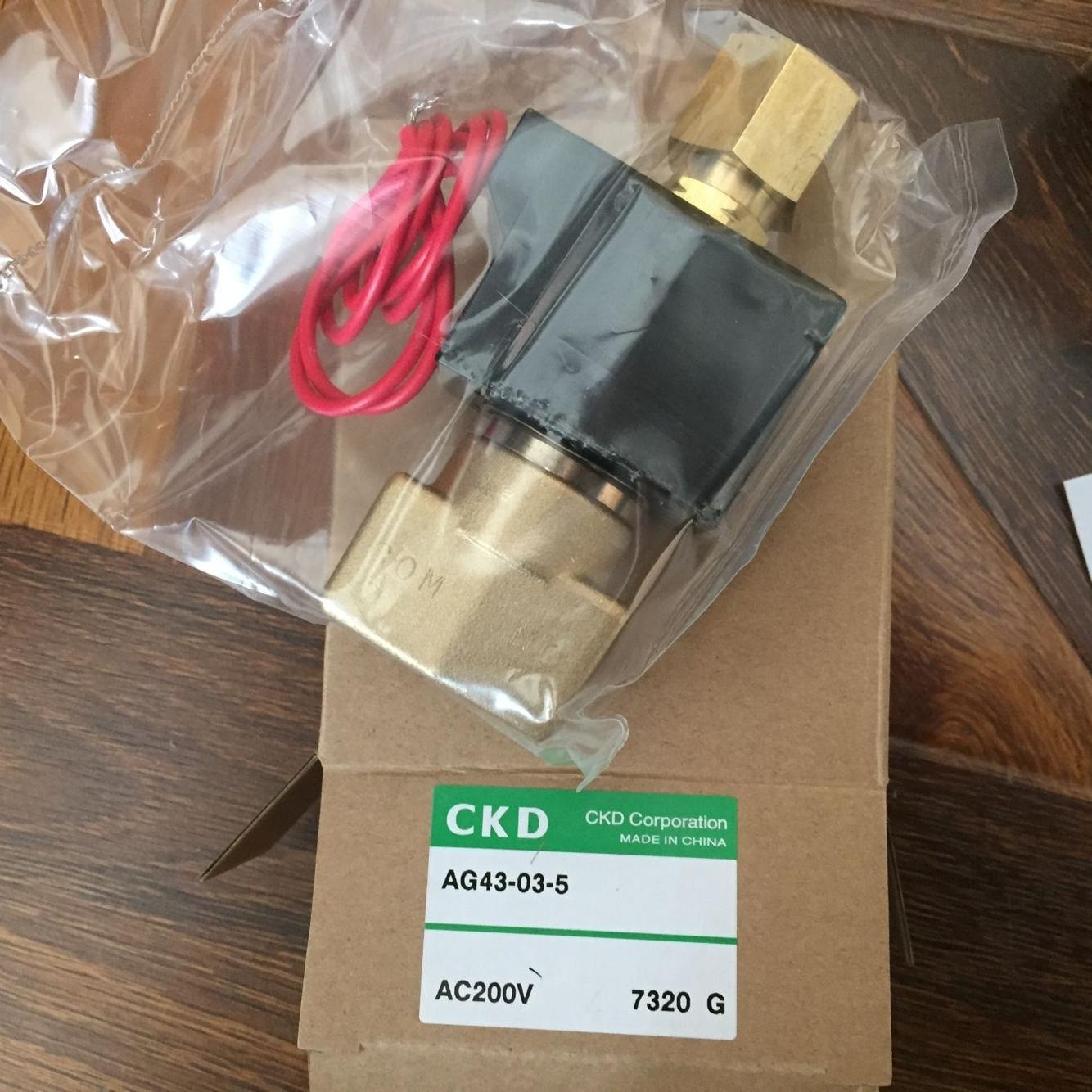 Van điện từ CKD AG43-03-5-AC200V