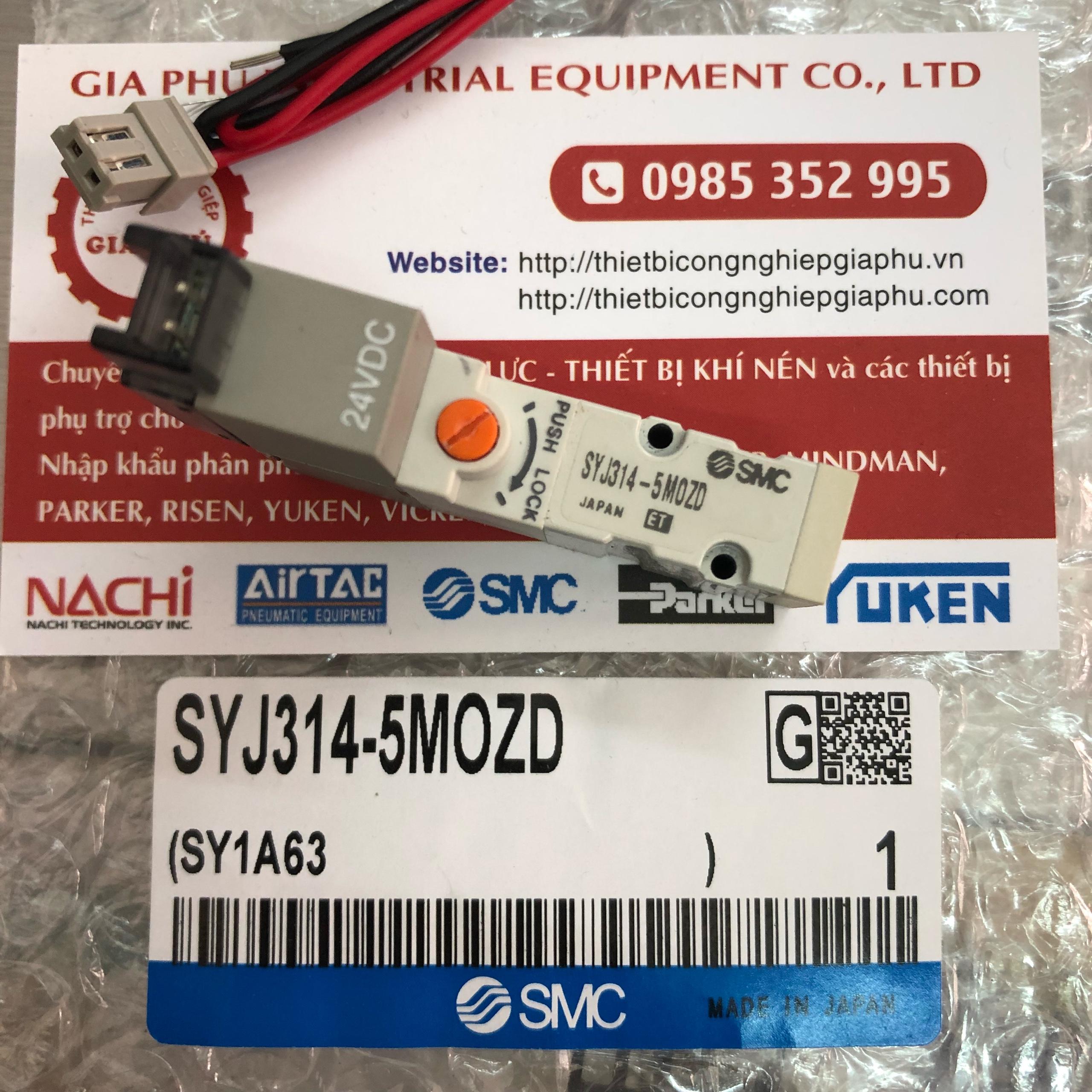 Van Khí SMC SYJ314-5M0ZD