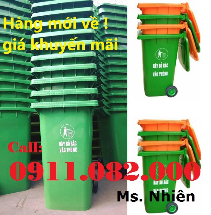 Thùng rác 240 giá sỉ- thùng rác 120 lít, 660 lít giá rẻ- giao hàng toàn quốc