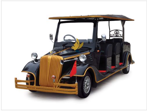 Xe điện cổ điển 8 chỗ