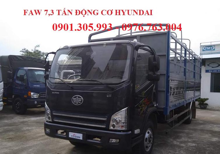 xe tải 7 tấn 3 máy hyundai nhập khẩu .
