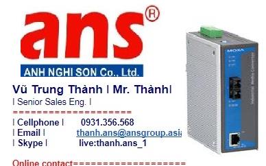 Bộ chuyển đổi tín hiệu Moxa Viet Nam IMC-101-M-SC