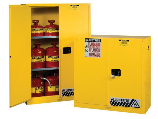 Tủ đựng hóa chất chống cháy dung tích chứa 170 lít của Justrite
