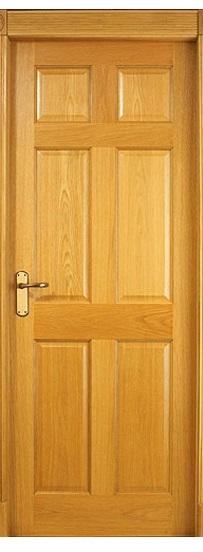 Cửa gỗ công nghiệp HDF veneer cửa phòng ngủ cho ngôi nhà tương lai