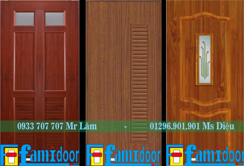 Ưu điểm của những chiếc cửa nhựa giả gỗ
