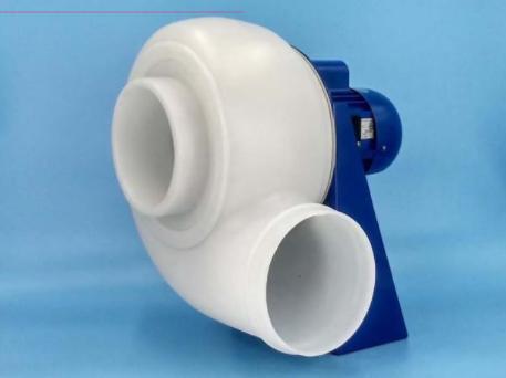 Quạt nhựa chịu hóa chất ăn mòn dùng cho tủ hút khí độc