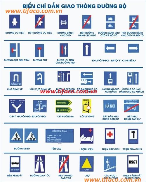 Chuyên cung cấp Biển báo giao thông, biển báo phản quang giá rẻ