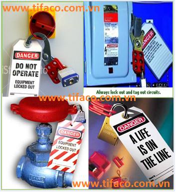 Chuyên Cung cấp khóa LOTO (Lock out,Tag out), Khóa nhựa an toàn, Master Lock